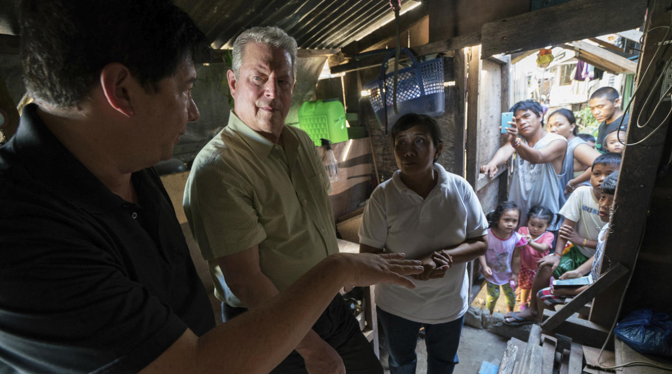 Fight like your world depends on it: Al Gore makes powerful call to action in sequel